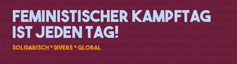 Feministischer Kampftag 2018 Leipzig